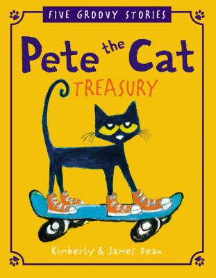 """Cover for """"Pete the Cat: Five Groovy Stories"""""""