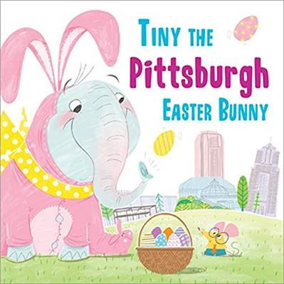 """Cover for """"Tiny the Pittsburgh Easter Bunny"""""""