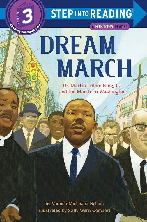 """Cover for """"Dream March: Dr. Martin Luther King Jr. and the March on Washington"""""""